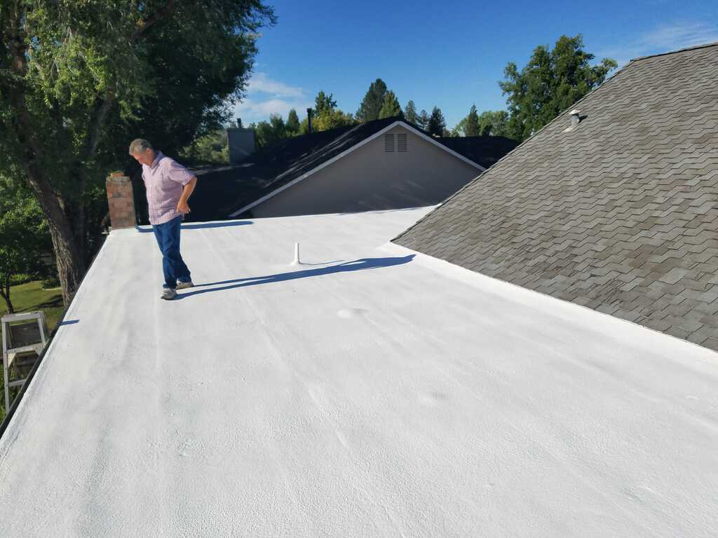 Residential Spray Foam Flat Roofing
