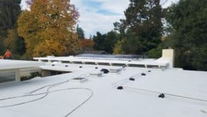 Residential Foam Roofing With Polyurethane